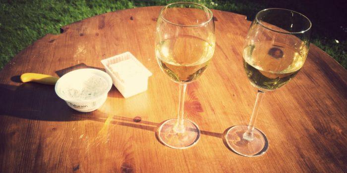 Witte wijn maken